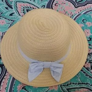 Gymboree Straw Hat with Bow